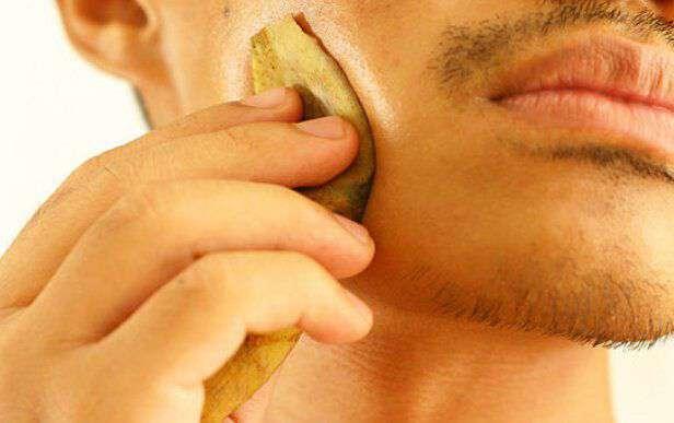 Image result for dry skin banana peel