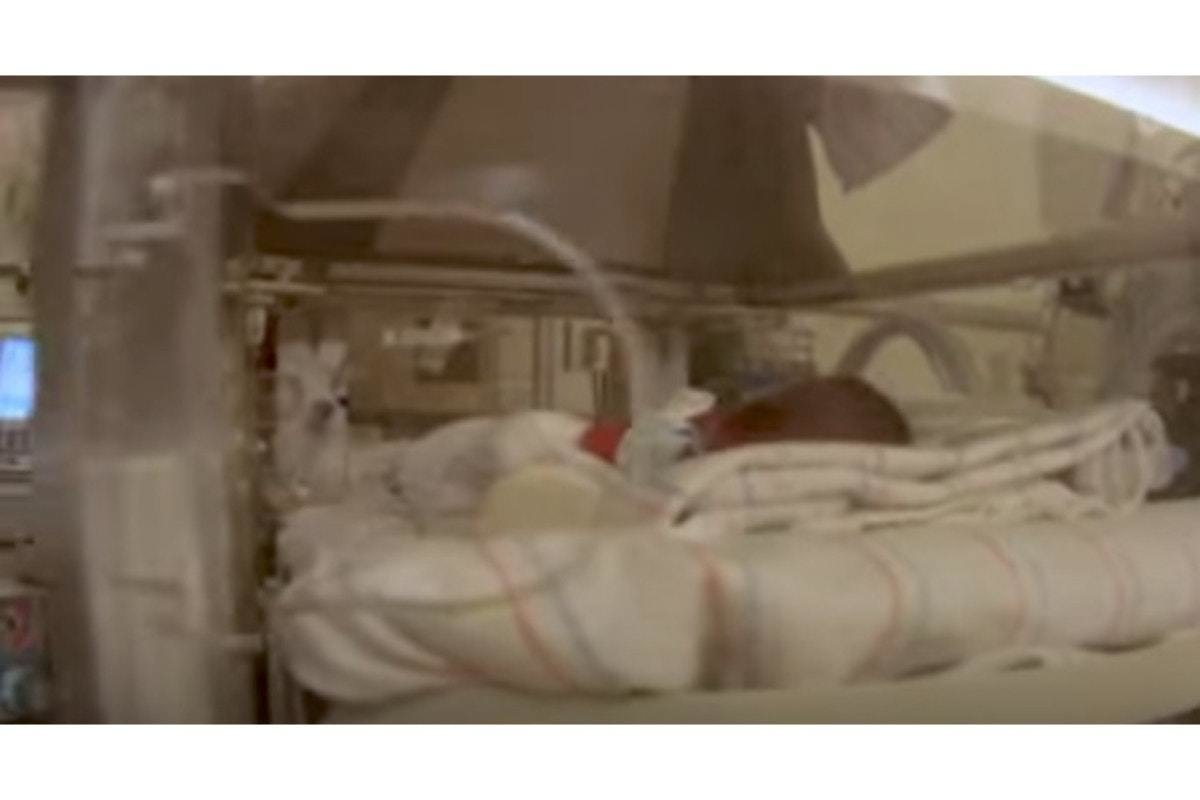 Like Many Premature Babies, They Were In Incubators