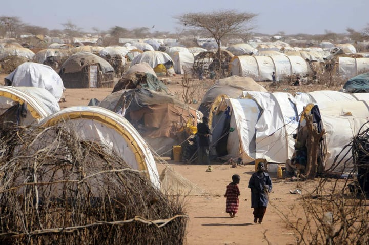 Refugee Camps in Ethiopia and Kenya