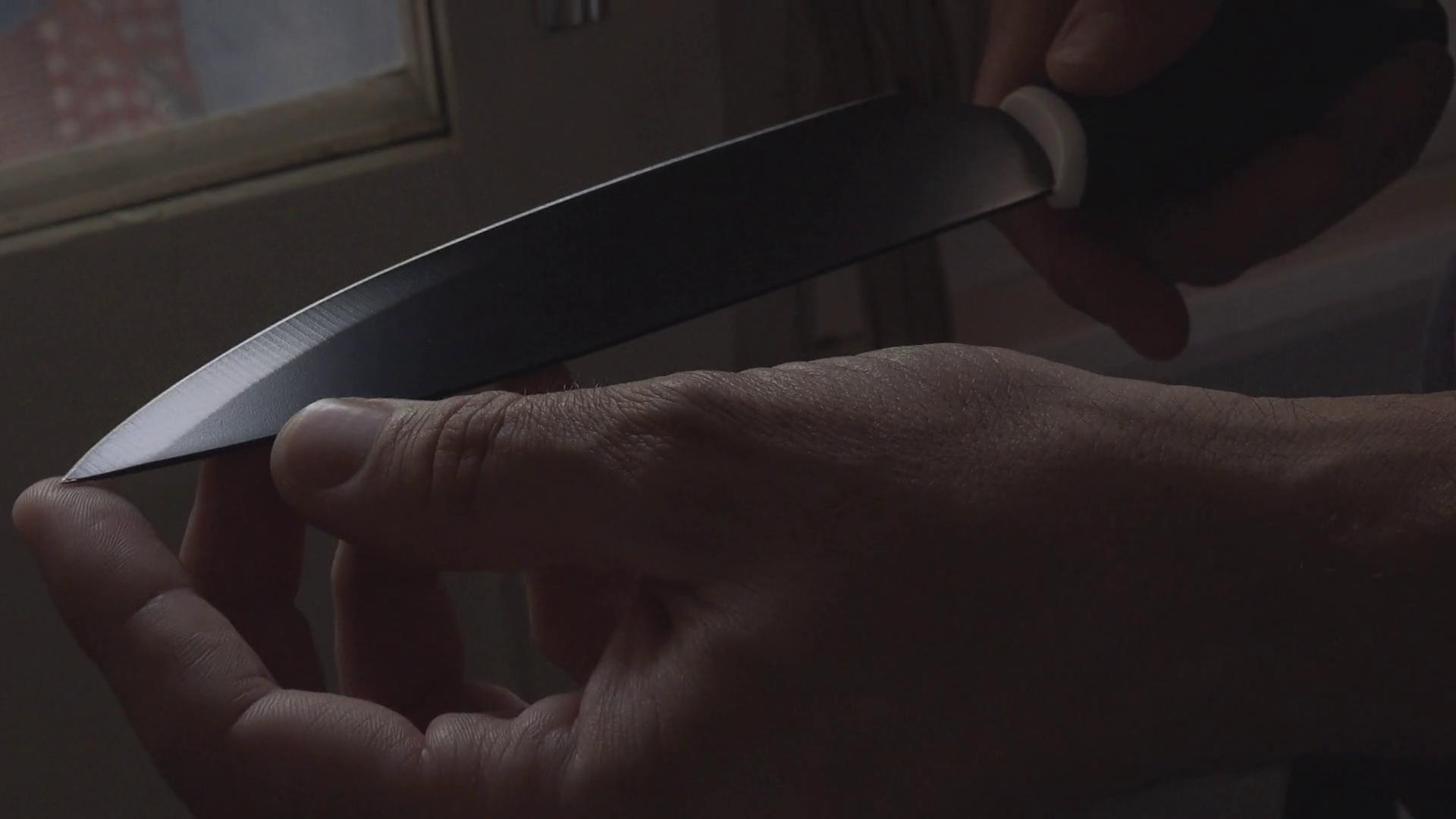 Image result for knife holding