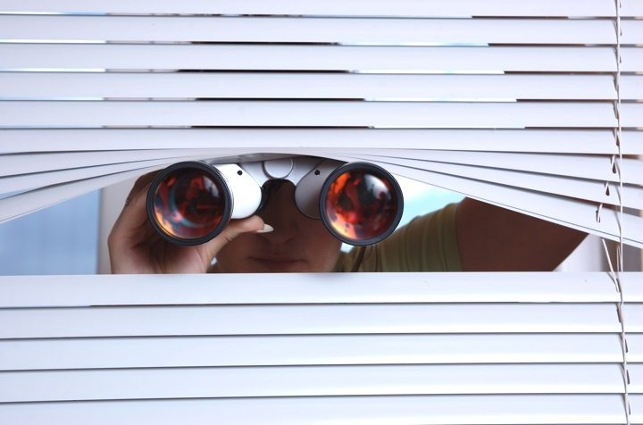Image result for neighbor spy