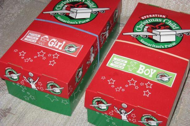 Image result for christmas shoebox