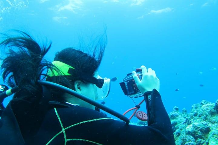 Girl Scuba Diving - Lost at Sea