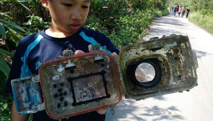 Camera Case - Lost at Sea