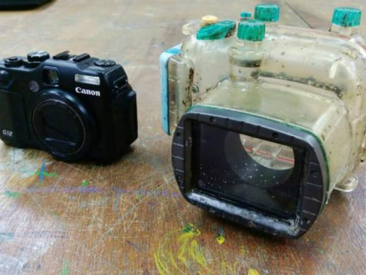 Canon PowerShot G12 - Lost at Sea