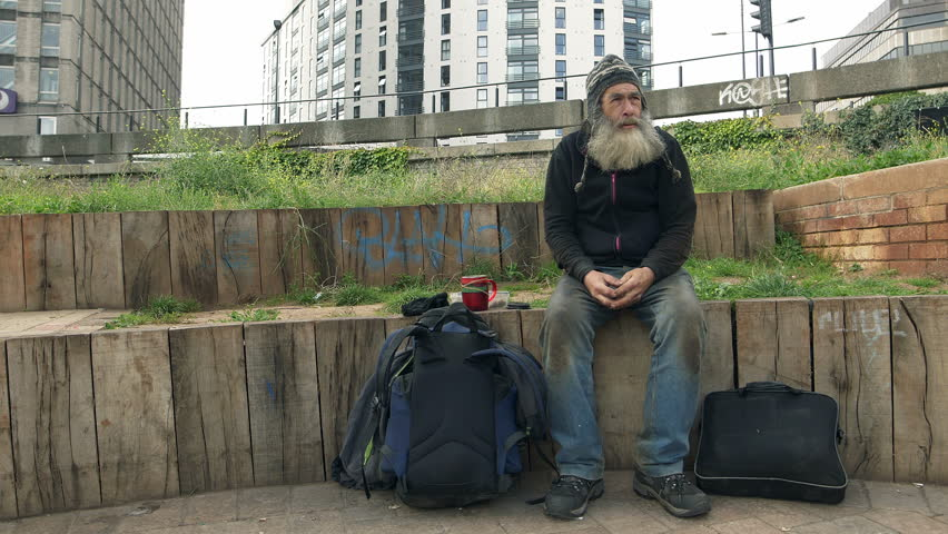 Image result for homeless old man street