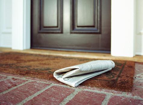 Image result for newspaper delivery