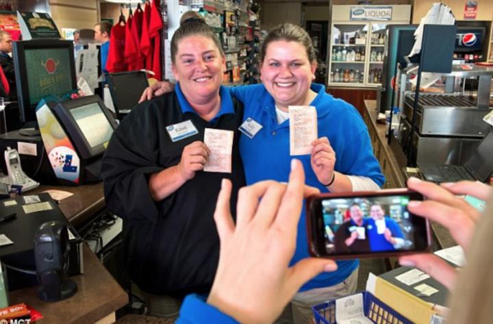 cashiers convenience store missouri powerball lottery