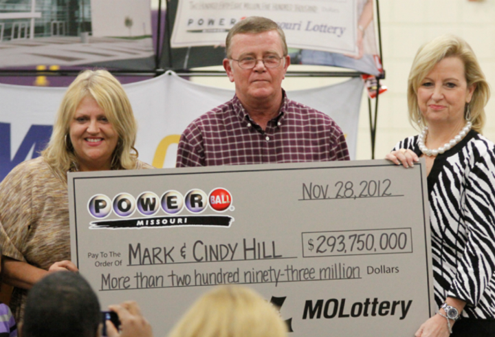 mark cindy hill missouri powerball lottery